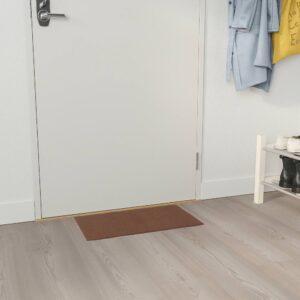 КЛАМПЕНБОРГ Придверный коврик для дома, коричневый 35x55 см - 605.001.13