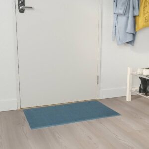 КЛАМПЕНБОРГ Придверный коврик для дома, синий 50x80 см - 205.001.05