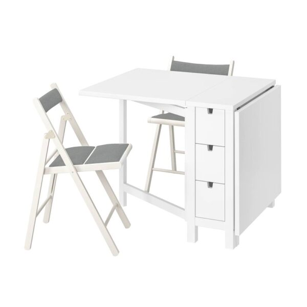 НОРДЕН / ТЕРЬЕ Стол и 2 складных стула - 594.423.55