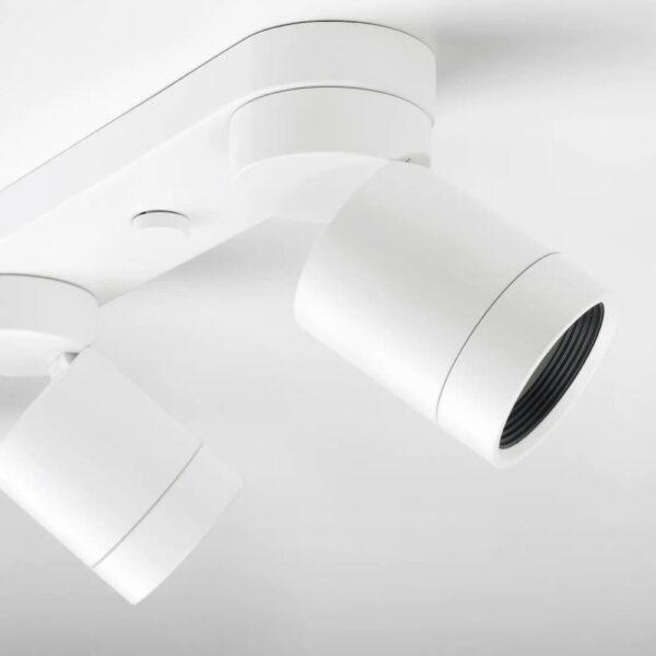 НИМОНЕ Потолочный софит, 4 ламп, белый - 103.620.67
