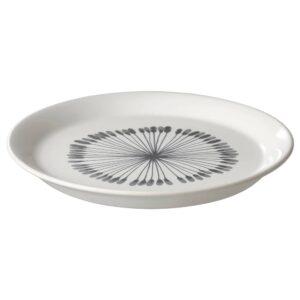 ФРИКОСТИГ Тарелка десертная, белый/с рисунком 19 см - 304.694.06