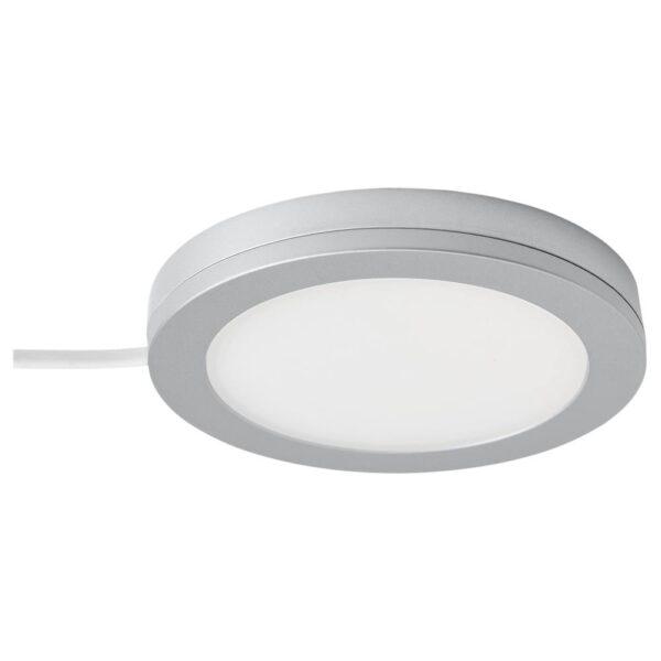 МИТЛЕД Софит светодиодный, регулируемая яркость цвет алюминия - 104.536.56
