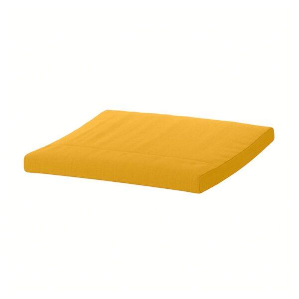 ПОЭНГ Подушка-сиденье на табурет для ног, Шифтебу желтый - 204.895.65