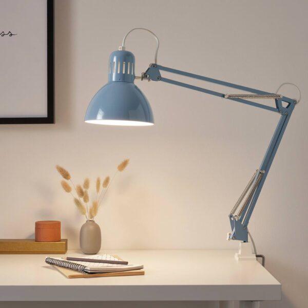 ТЕРЦИАЛ Лампа рабочая, голубой - 505.042.96
