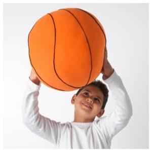 БОЛЛКЭР Мягкая игрушка, баскетбол/оранжевый - 005.067.78