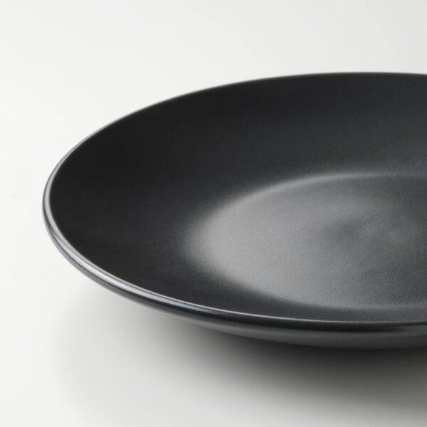 ФЭРГКЛАР Тарелка десертная, матовая поверхность темно-серый 20 см - 804.794.17