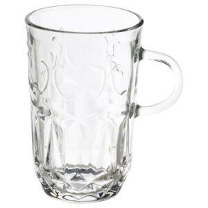 СЭЛЛЬСКАПЛИГ Кружка, прозрачное стекло/с рисунком 22 сл - 104.922.95