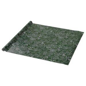 ВИНТЕР 2021 Рулон оберточной бумаги, орнамент «лист» зеленый 3x0.7 м - 104.992.87