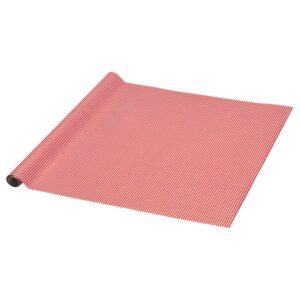 ВИНТЕР 2021 Рулон оберточной бумаги, орнамент «полоска» красный/белый 3x0.7 м - 004.993.20