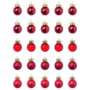 ВИНТЕР 2021 Украшение, шар, стекло красный 2 см - 104.953.45